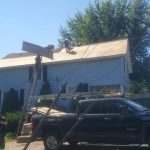 sheathing decking roof replacement